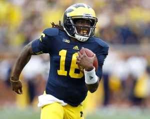 Michigan's Denard Robinson