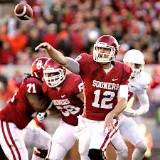 Oklahoma's record setting quarter back Landry Jones